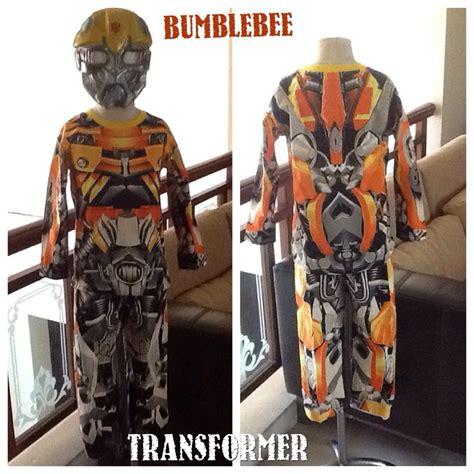 Kaos Anak Import Transformers Hitam Size 8 kaos transformers bumblebee topeng nyala superheroku