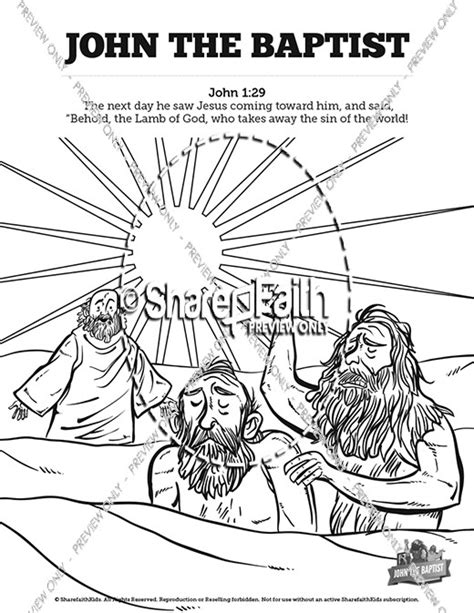 the baptist coloring page the baptist sunday school crossword puzzles sunday