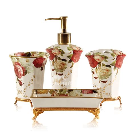 High End Bathroom Accessories High End Vintage Bathroom Accessories Sets 5