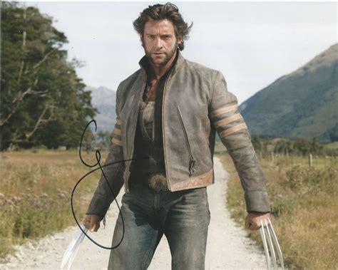 main actor in wolverine actor hugh jackman hand signed x men wolverine 8x10 photo