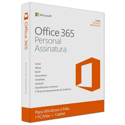 Microsoft Office For Pc Microsoft Office 365 Personal Qq2 00108 Para Pc Ou Mac