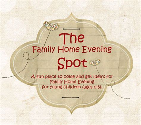 187 best ideas about family home evening on