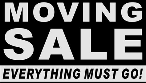 Moving Sale At Makeupcom by Moving Sale Everything Must Go Russel Photos