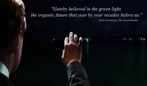 Great Gatsby Green Light Quote by Quotes Quotes