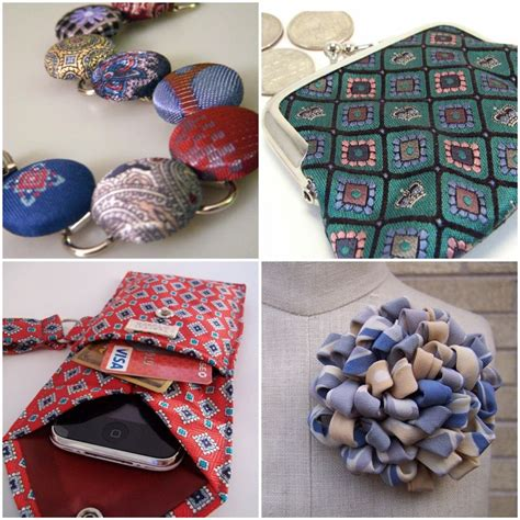 mens ties craft projects tie one on recycled neckties for everyone in your wedding