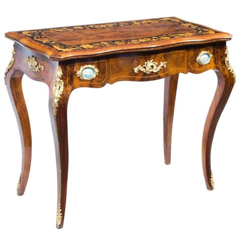 Porcelain Table L by Antique Card Table With Porcelain Plaques Circa 1880 For Sale At 1stdibs