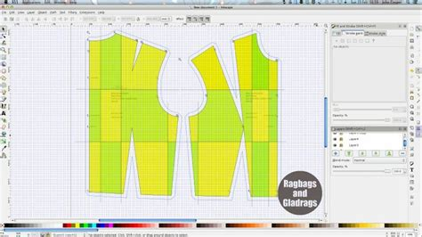 inkscape tutorial pattern inkscape pattern grading using opensource to digitise a