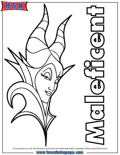 coloring pages the descendants disney s maleficent free printables crafts and coloring