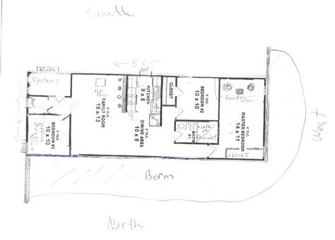 berm house floor plans small earth berm house plans studio design gallery best design
