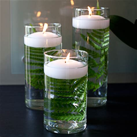 table centerpieces 36 glass cylinder vases with candle
