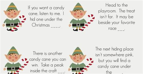 printable elf on the shelf scavenger hunt elf on the shelf candy cane scavenger hunt east coast