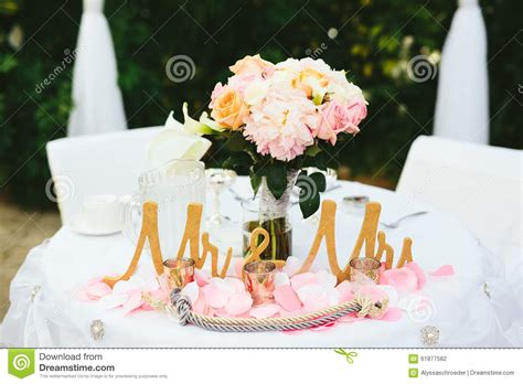 and groom table centerpiece ideas wedding groom table stock photo image 61877582
