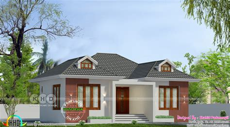 cute  cost  bedroom house kerala home design