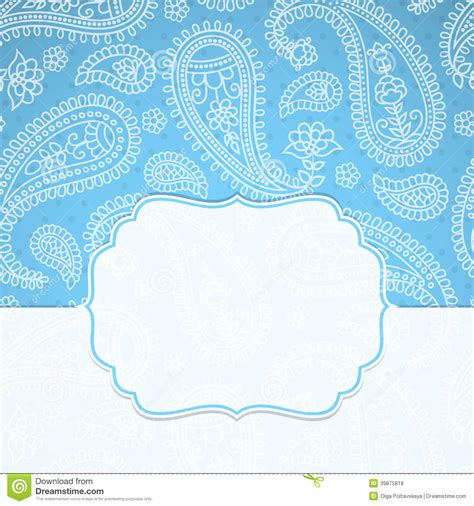 indian pattern frame frame in the indian style stock vector image 39875818