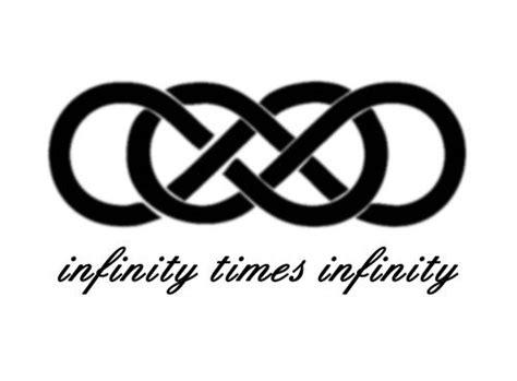 infinity times infinity tattoo infinity times infinity double infinity symbol romantic