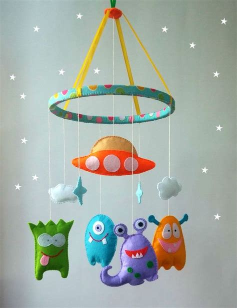 how to make a baby mobile for crib best 25 felt ideas on felt diy felt crafts