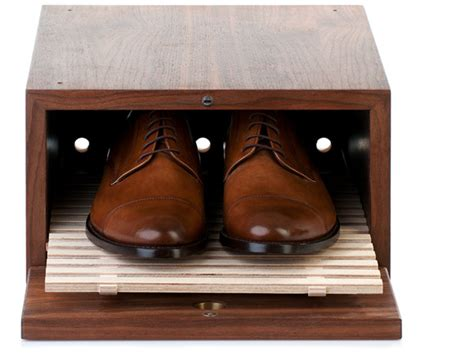 wood shoe box storage store your shoes in a wooden shoe box from shoepassion