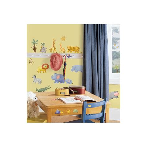 roommates jungle adventure peel stick wall decals the