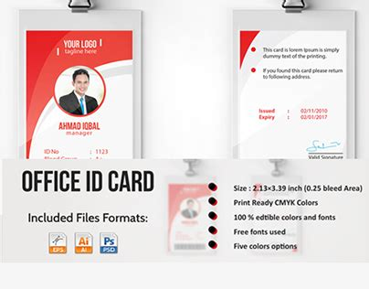 employee id card template free behance check out new work on my behance portfolio quot professional
