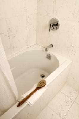 hard water stains bathtub how to remove hard water stains from your bathtub ehow