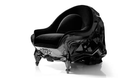 skull armchair holiday gift idea harold sangouard s black skull armchair