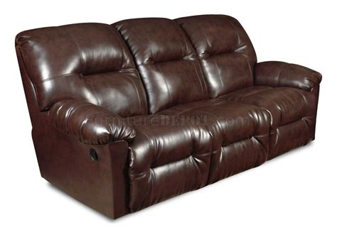 leather double recliner sofa brown bonded leather modern double reclining sofa