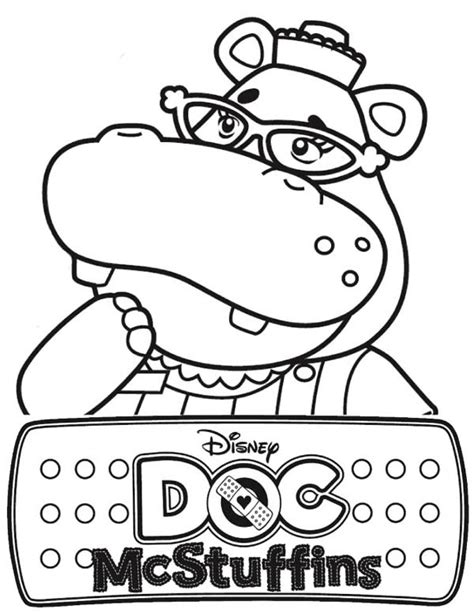 doc mcstuffins characters coloring pages free coloring pages of doc mcstuffins halloween