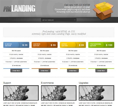 free html product page template 50 effective landing page templates for your products