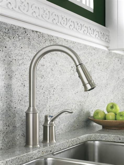 moen kitchen pullout faucet moen 7590csl aberdeen single handle pullout kitchen faucet