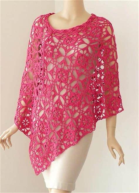 crochet poncho 24 adorable summer poncho free crochet design diy to make