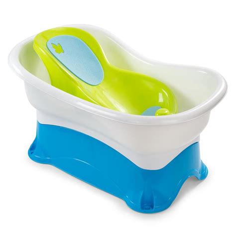 newborn bathtub summer infant right height bath center 8974 tjskids com
