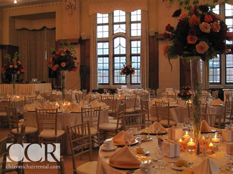 chiavari chairs wedding arbor mi beautiful gold chiavari chairs at the michigan union