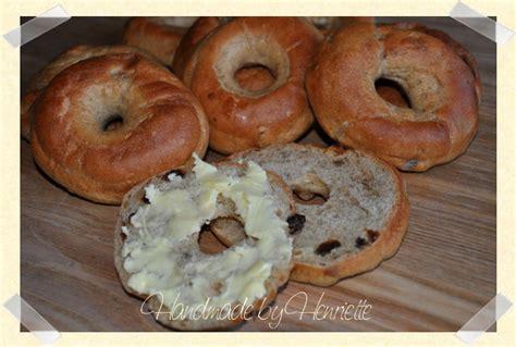 Handmade Bagels - handmade by henriette kanel rosin bagel