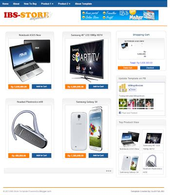 template toko online free download download template toko online blog gratis