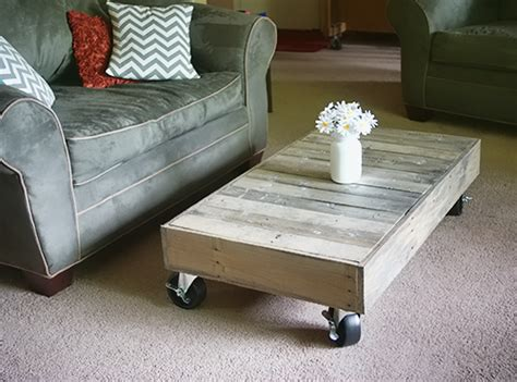 Shipping Pallet Coffee Table Shipping Pallet To Coffee Table And Finishing Tips