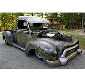 Just A Car Guy Very Cool Rat Rod Pro Street Truck With