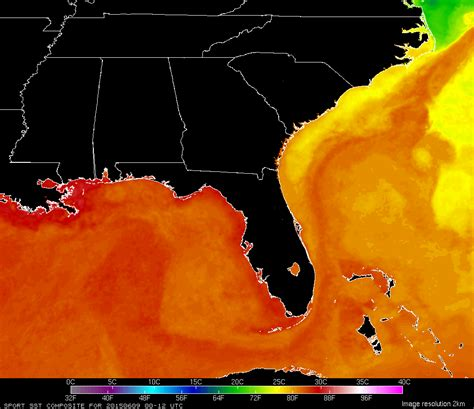water temperature gulf of mexico marine forecasts and conditions