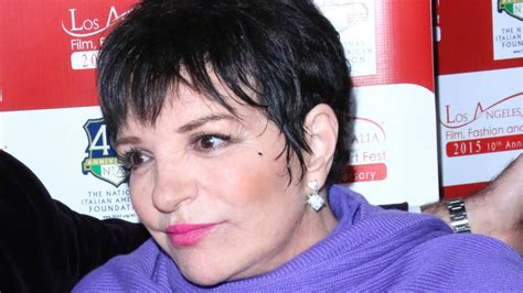 Back In Rehab by Liza Minnelli Back In Rehab After Serious Relapse
