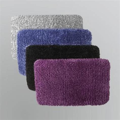 memory foam shag rug shag memory foam bath mat step into comfort with sears