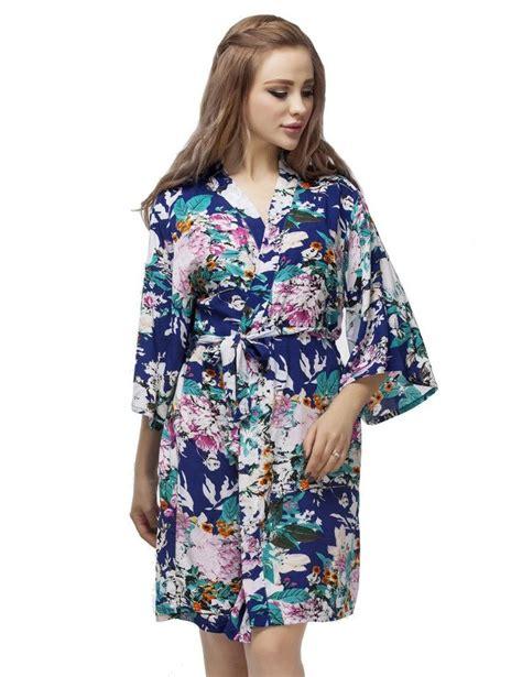 pattern for short kimono robe soft cotton bridesmaid kimono robe floral pattern short
