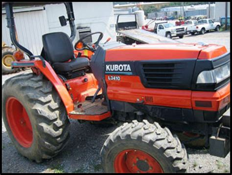 Kubota L3410 Specifications Attachments