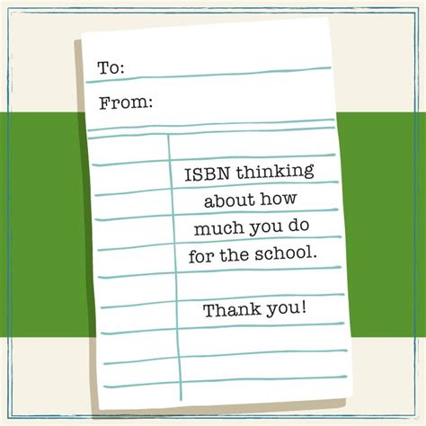 printable thank you cards for librarians school thank you cards for custodians librarians and
