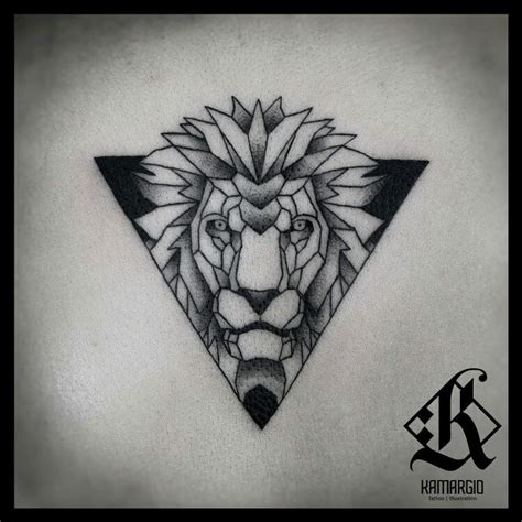 mandala animal tattoo tumblr lion geometric animal geometry tattoo pinterest