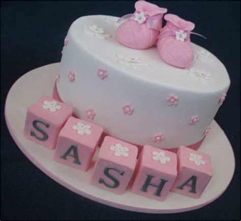 Christening Cakes by Blissfully Sweet A Booties Christening Cake