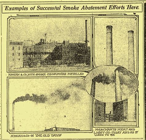 darkest hour indianapolis indianapolis collected coal smoke brought indy s darkest
