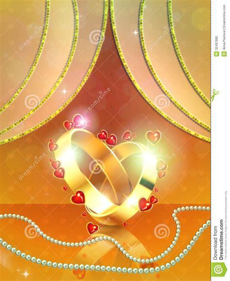 floral black orange gold background heart royalty free stock photos image 36536688 wedding rings on yellow background stock illustration