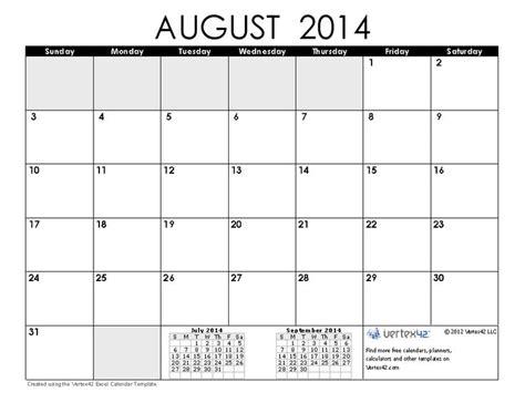 August 2014 Calendar August 2014 Calendar 4 Png 890 215 685 Look