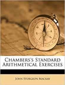 chambers s standard arithmetical exercises sturgeon