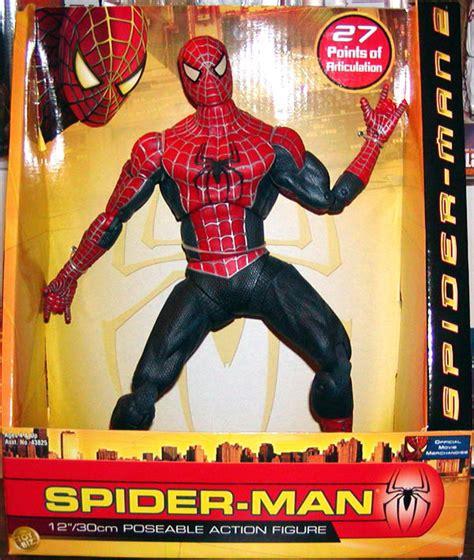 spider 2 figure poseable spider 2 figure 12 inch biz