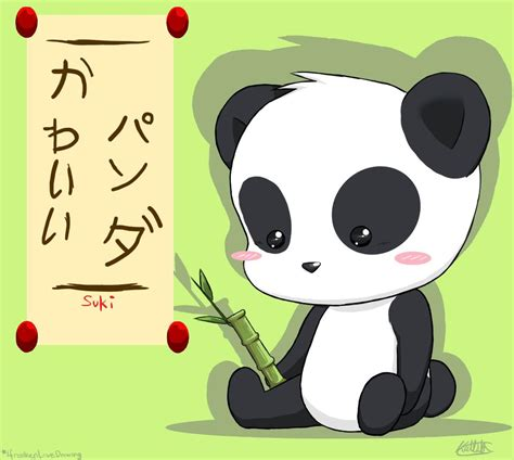 imagenes kawaii love kawaii panda by ifreakenlovedrawing on deviantart